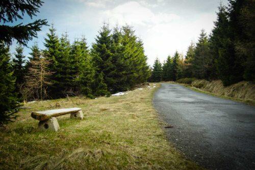 Niebieski szlak ze Świeradowa-Zdroju do Chatki Górzystów